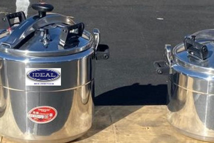 Pressure Cookers - 4 sizes - 28/ 47/ 56/ 75 LITRES