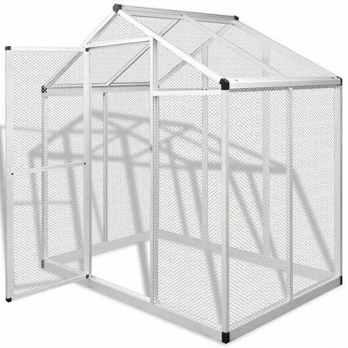 """Aviary Aluminum Bird - small animal cage -70.1"""" x 48"""" x 76.4"""""""