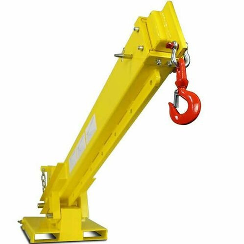 Crane attachment for skid steer and forklift – jib boom 6000 lb capacity – Free