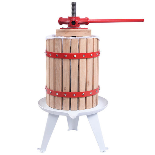New Fruit Wine Press Cider Apple Grape Crusher Juice Maker Tool Wood - 3 sizes