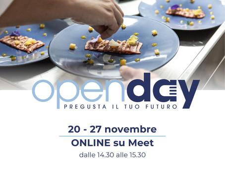 L'Open Day si sposta online!