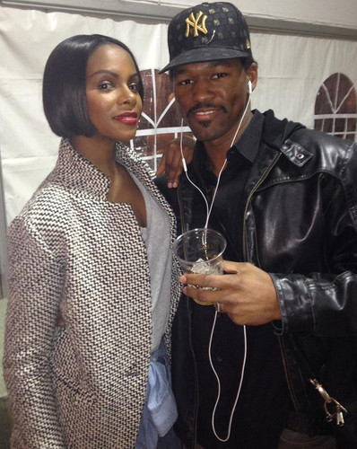Rob Demery with Tika Sumpter