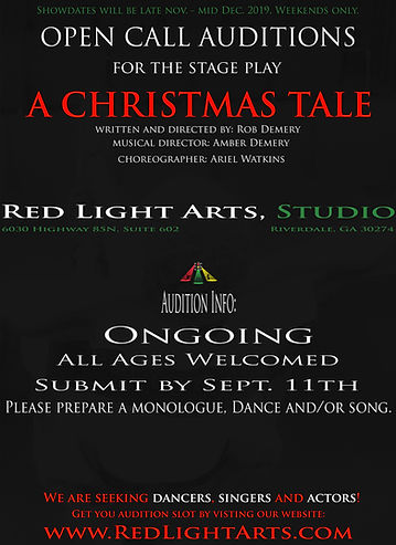 A Christmas Tale AUDITIONS September 4.j