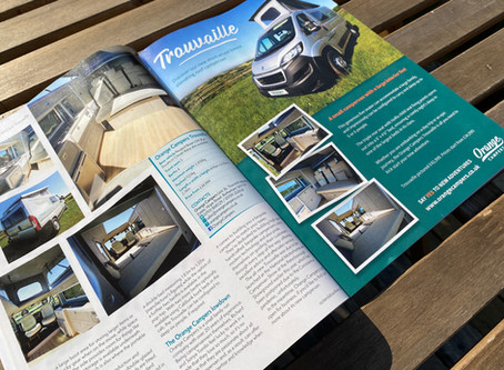 Have you seen us in this month's issue of Campervan magazine?