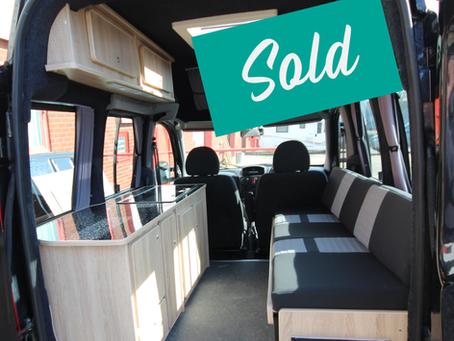 Newly converted Fiat Doblo micro camper for sale - £9995