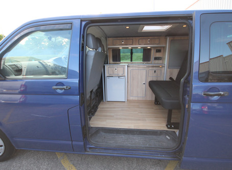Completed VW campervan conversion