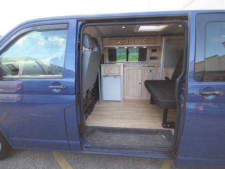 Completed VW campervan conversion