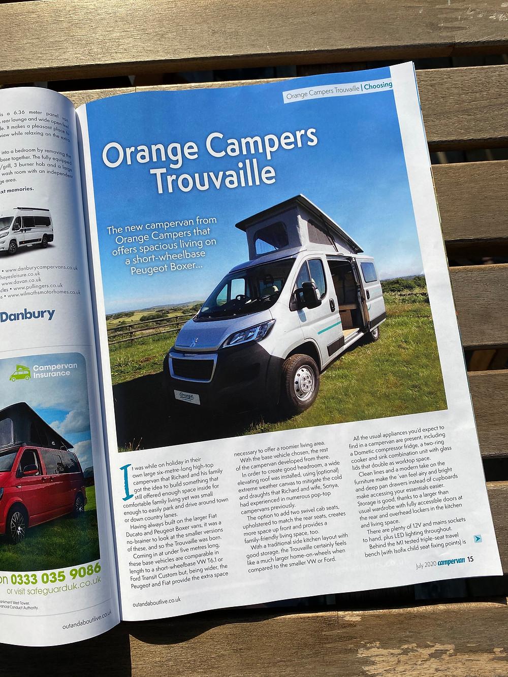 Trouvaille Campervan Peugeot Conversion for Sale Sheffield Yorkshire