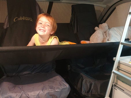 How do you fit so many people in a Trouvaille campervan?