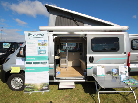 A closer look inside our Trouvaille campervan