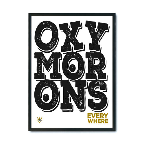 OXYMORONS (digital)