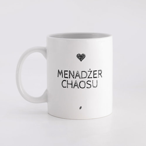 Menadżer Chaosu (kubek zwykły)