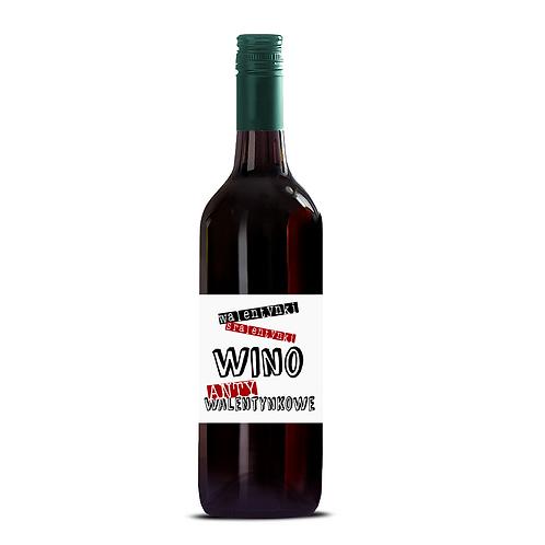 Etykieta na wino ANTYwalentynkowe