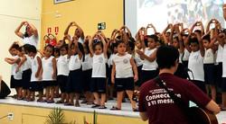 CORAL DAS CRIANÇAS canta na SEMESP