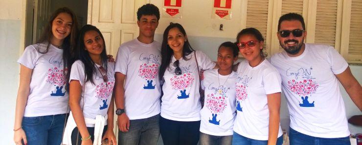 Jovens do CEIC participam da CONJERN