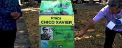 Nova homenagem na Praça CHICO XAVIER