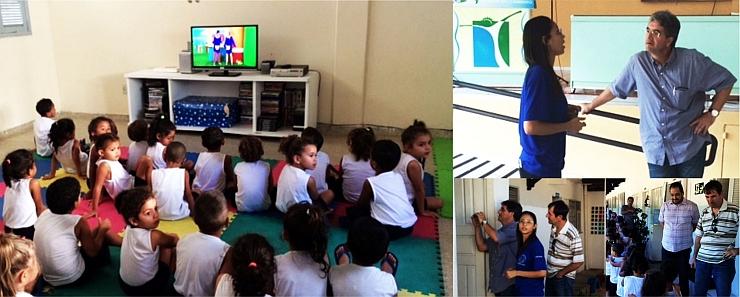 Fundação Mazinho visita Escola