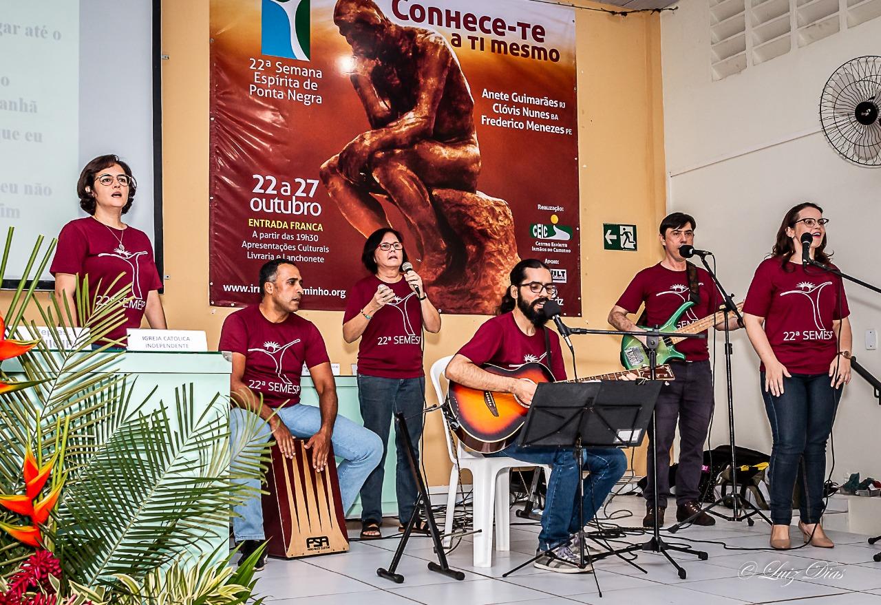 SOM DO CAMINHO canta na Semesp 2018
