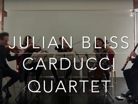 New Video: David's Bruce's Gumboots live with the Carducci Quartet