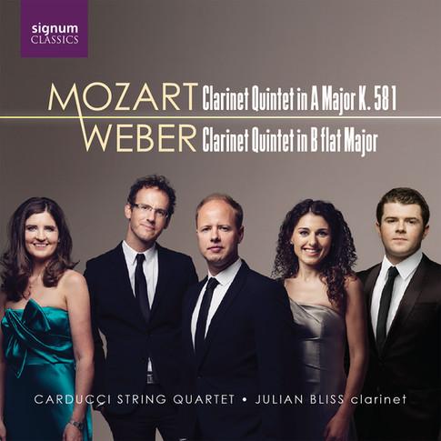 Mozart & Weber: Clarinet Quintets