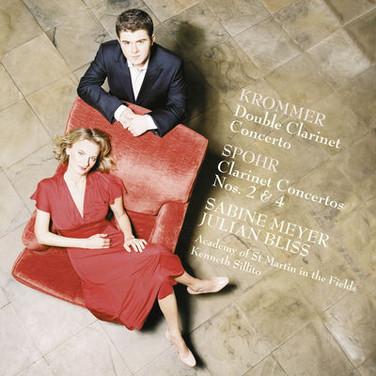 Sabine Meyer & Julian Bliss: Krommer Double Clarinet Concerto, Spohr Concertos Nos.2 & 4