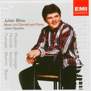Julian Bliss & Julien Quentin: Music for Clarinet & Piano