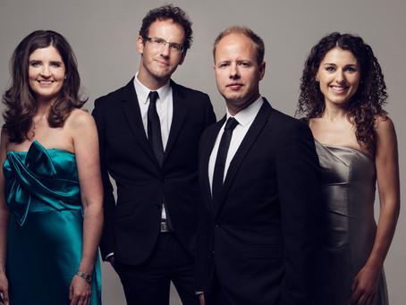 Julian to join the Carducci Quartet in Scotland