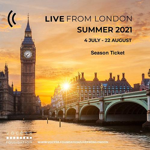 Live From London Season Ticket