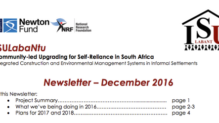 Read our December 2016 Newsletter