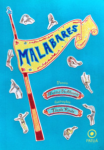 MALABARES Livro de poesia  2017 Marina Pechlivanos Editora Patuá