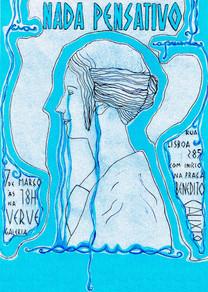 ACQUA Cartaz  2015 Sábado Pensativo Verve Galeria