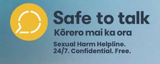New Zealand - Safe to Talk