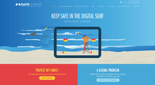 The Life Guard by Safe Surfer