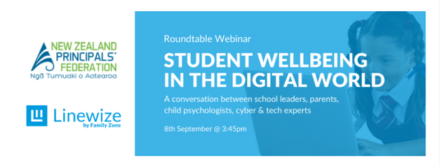 Student Wellbeing in the Digital World Webinar