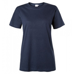 Womens Cotton Relaxed Crew Neck T-Shirt