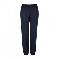 Womens Tapered Wool Trouser