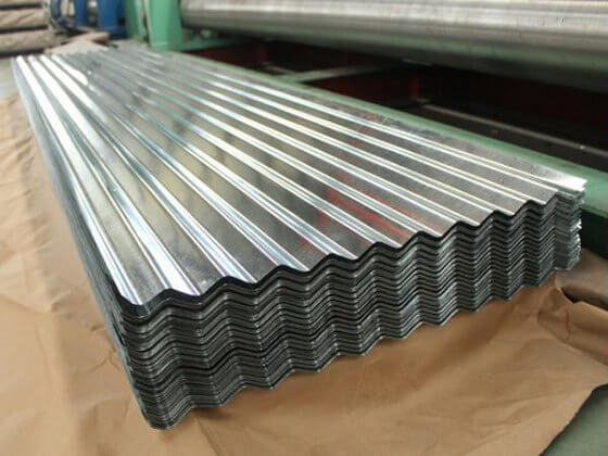 Steel Corrugated Sheet Galvanized