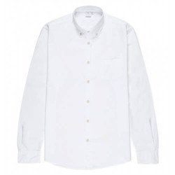 Mens Cotton Button-Down Shirt