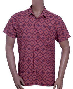 Mens Cotton Print Shirt