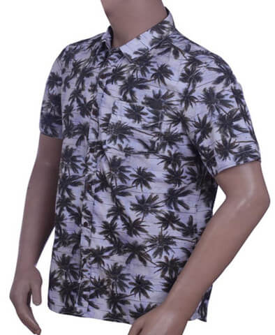 Mens Cotton Print Shirt