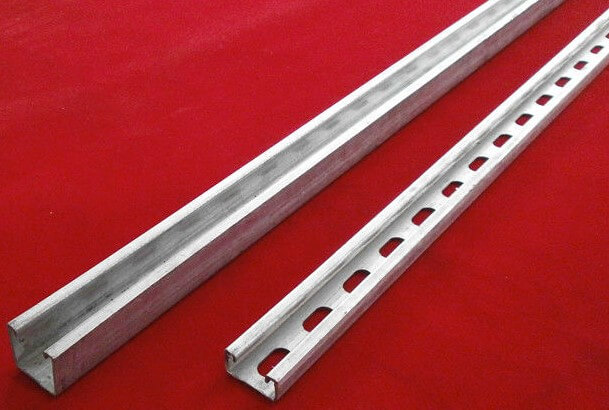 Double C Channel Steel Bar