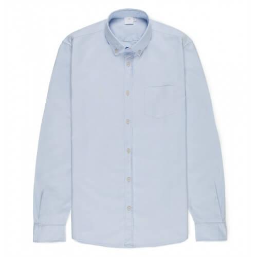 Mens Cotton Button-Down Shirt