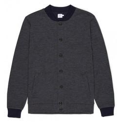 Mens Vintage Wool Bomber Jacket