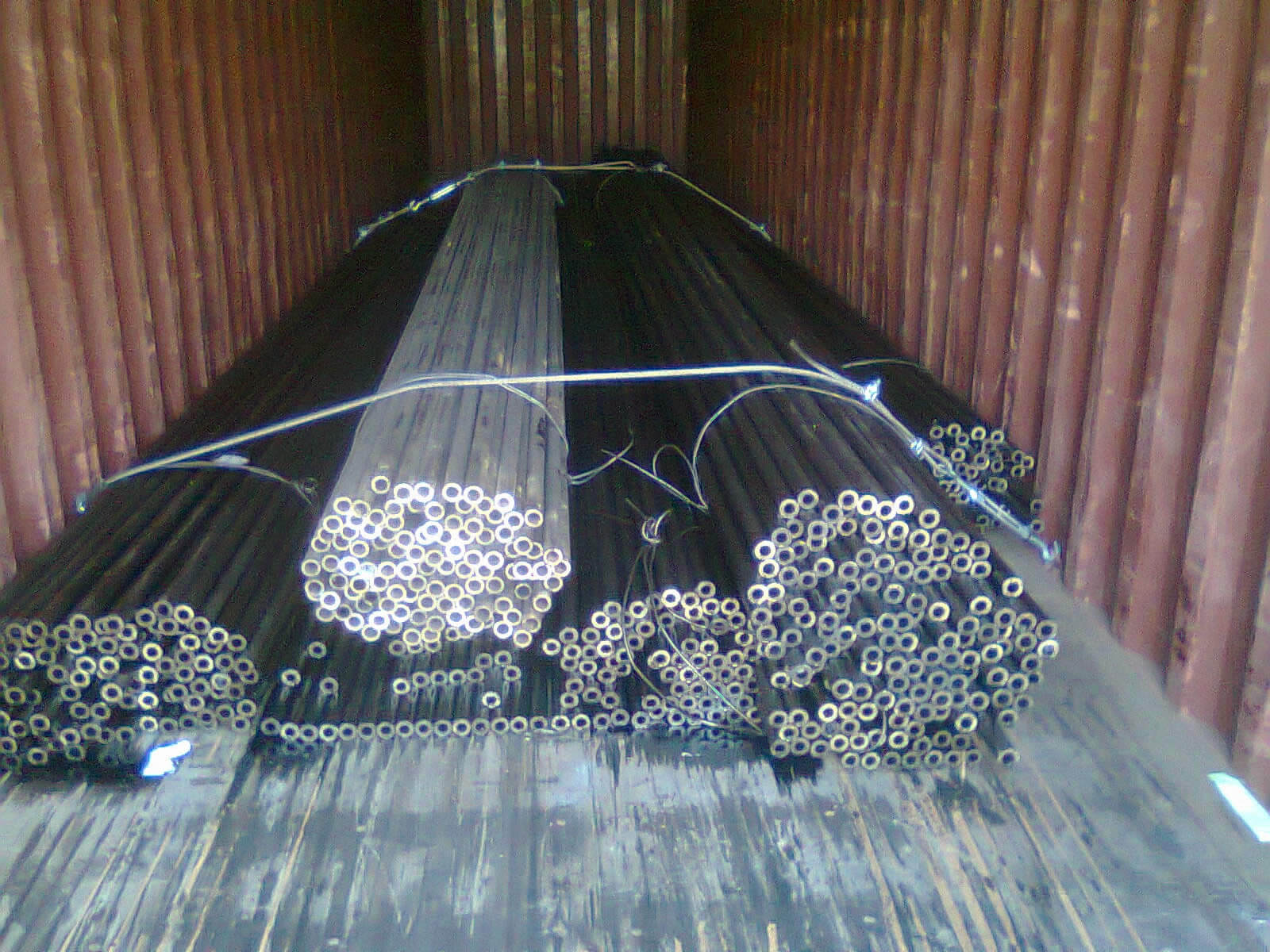 Steel Pipe - Container Packing