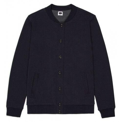 Womens Vintage Wool Bomber Jacket