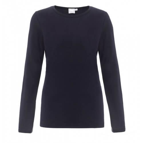 Womens Long-Staple Cotton Long Sleeve T-Shirt