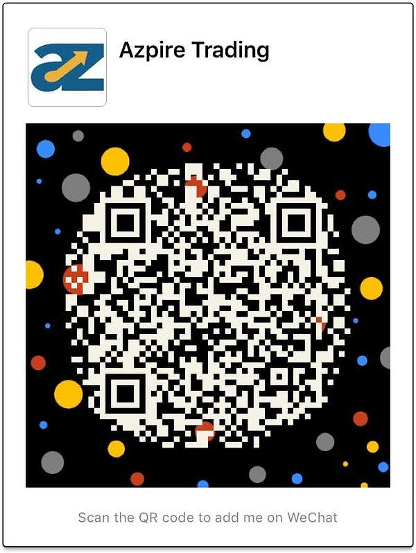 Contact AzpireTrading using WeChat QR Code