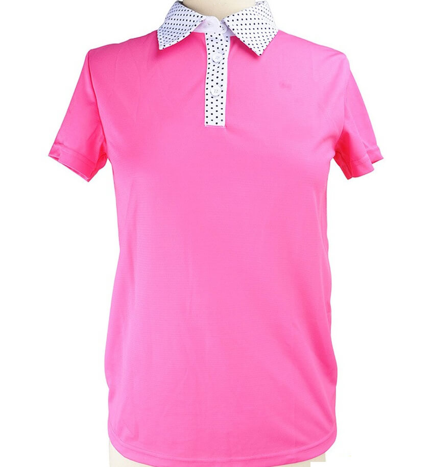 Womens Golf Wear Polyester or Spandex Polo T-Shirt