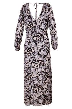 Womens Bohemian Printed Maxi Dress