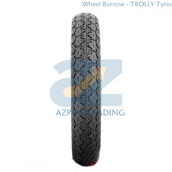 AZ-WB-001 - Wheelbarrow Trolly Tyre